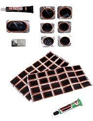 Gazechimp Juego de Tratamiento de Llantas de Bicicletas MTB Portable Durable Etiquetas Protector Lámina Seguro