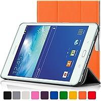 Forefront Cases® Samsung Galaxy Tab E Lite 7.0 SM-T113 Funda Carcasa Stand Smart Case Cover Protectora Plegable de Cuero – Función automática inteligente de Suspensión/Encendido