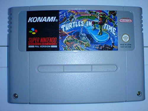 Teenage Mutant Hero Turtles IV: Turtles in Time SNES