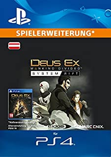 Deus Ex: Mankind Divided - System Rift DLC [PS4 Download Code - österreichisches Konto] (B01M34ZR1K) | Amazon price tracker / tracking, Amazon price history charts, Amazon price watches, Amazon price drop alerts