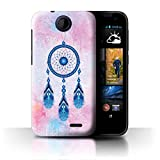 Stuff4 Phone Case for HTC Desire 310 Colourful Dreamcatcher