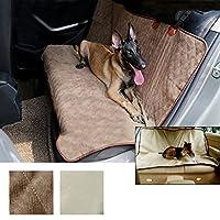 Lussuoso Sedile impermeabile della sede del Sedilerilievo della protezione stuoia dell'animale domestico auto per cani (Grigio Su Misura Seat Covers)
