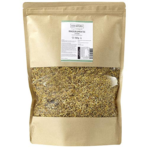 Vita Natura Ringelblumen Tee, loser Arzneitee, Bio, 1er Pack (1 x 250 g)