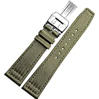 NW 22mm verde in tela orologio da