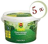 Oleanderhof® Sparset: 5 x COMPO Eisendünger, 5 kg + gratis Oleanderhof Flyer