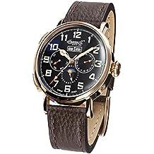 Ingersoll IN1917RBK - Reloj automático, para hombre, con correa de cuero, color marron