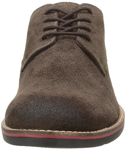 Kickers Herren Eldan Schuhe mit Schnürung Braun (Dunkelbraun)