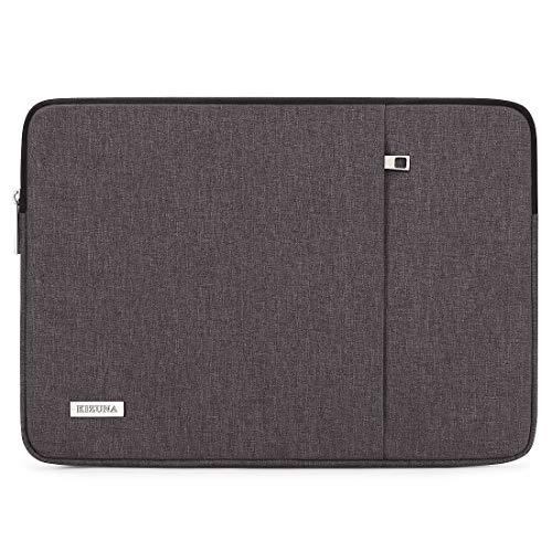 """KIZUNA Laptop Hülle Tasche 12.5-13 Zoll Sleeve Case Schutzhülle Notebook Bag für 13\"""" MacBook Pro/Touch Bar/12.9\"""" iPad Pro/13.9\"""" HUAWEI MateBook X Pro/Neu 13.5\"""" Surface Laptop/Lenovo/Dell, Dunkelgra"""