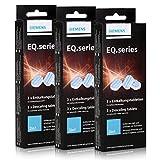 3er Pack Entkalkungstabletten 2in1 für Kaffeevollautomaten / Siemens EQ.series TZ80002 -