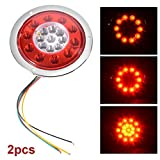 Best XCSOURCE Led Tail Lights - XCSOURCE 2pcs 19 LED Universal Turn Signal Light Review