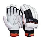 Kookaburra 2018 Blaze 500 Batting Gloves - White, SJL/H