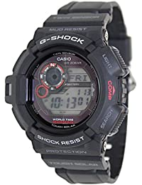 Casio G-Shock Men's Mudman Solar Digital Watch G-9300-1ER with Resin Strap