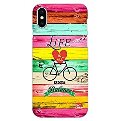 Here's a case that reflects your personality. Get your Apple iPhone X/ iPhone 10 a Nutcase , cases conceptualized & designed by top national and international artists. The cases are high in quality, sleek with premium soft matt finish.