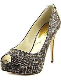 Michael Kors Fulton Harness Womens Rain Boots Waterproof Cheetah Glitter 7.5 B(M) US