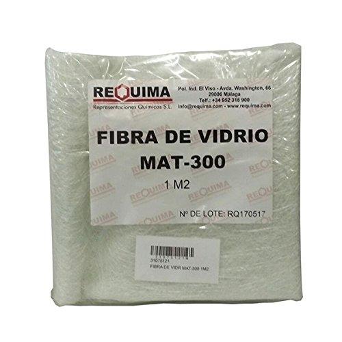 Fibra di vetro MAT - 300, densità 300gr/m2, 1m2, per riparazioni.