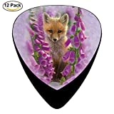 Foxgloves Celluloid Guitar Picks 12 Pack For Electric Acoustic Guitar