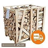 1 Raummeter Premium-Esche, 25cm Scheitlänge