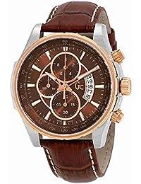 Guess Reloj Cronógrafo para Hombre de Cuarzo con Correa en Cuero X81002G4S