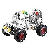 Metallo Build-n-Play Montare Smontare Off-road Jeep Costruzione dei Componenti del Veicolo Model Car 195pcs Edificio Giocattolo per 6 Anni + - HENG CHENG TOYS - amazon.it