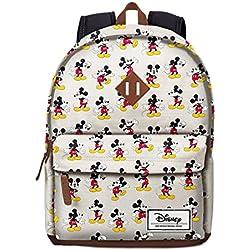 Karactermanía 33607 - Mochila Classic Mickey Mouse Original Disney