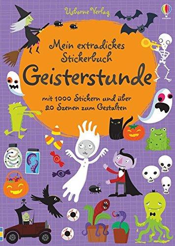 Halloween Buch - Mein extradickes Stickerbuch: