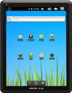 Arnova 9 G2 24,6cm (9,7 Zoll) Tablet-PC (ARM Cortex A 8, 1GHz, 1 GB RAM, 8GB SDD, WiFi, kapazitives Display, Multitouch, Android 2.3) schwarz