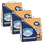 Catsan Agglom�rante Plus - 5L - Lot de 3