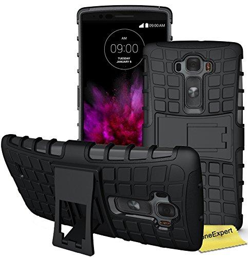 FoneExpert® LG G Flex 2 Handy Tasche, Hülle Abdeckung Cover schutzhülle Tough Strong Rugged Shock Proof Heavy Duty Case für LG G Flex 2 + Displayschutzfolie - Lg 2 Cover Flex