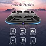 KAI DENG Card Drone with 720P HD Camera, Wifi FPV Quadcopter Drone, Follow Me, Optical Flow Positioning, Altitude Hold, Headless Mode - World's Thinnest Drone