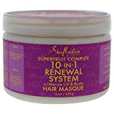 Shea Moisture Super-fruit Complex 10-In-1 Renewal System Hair Masque, 12oz