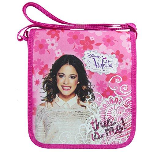 DISNEY VIOLETTA TASCHE this is me Handtasche Umhängetasche Schultertasche Schultasche (Violetta Handtasche)