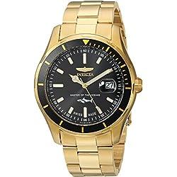 Invicta 25810 Pro Diver Reloj para Hombre acero inoxidable Cuarzo Esfera negro