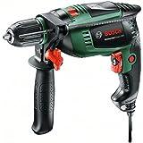 Bosch DIY Schlagbohrmaschine UniversalImpact 800 (Zusatzhandgriff, Tiefenanschlag, Koffer (800 W, max. Schrauben-Ø: 5 mm, max. Bohr-Ø: Holz: 30 mm, Beton: 14 mm, Stahl: 12 mm))