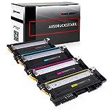 4 Toner kompatibel für Samsung Xpress C430W C480W Farblaserdrucker - CLT-P404C/ELS - Schwarz 1500 Seiten, Color je 1000 Seiten