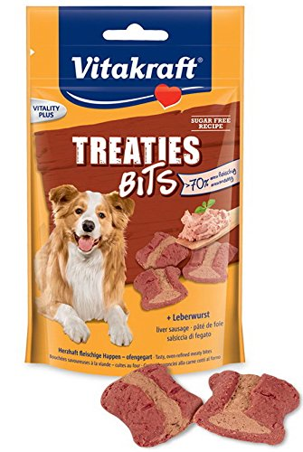 Vitakraft Treaties + Salchicha,120 gr