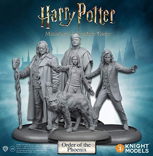 Knight Models HPMAG04 Juego de Aventura en miniaturas de Harry Potter: Paquete de expansión Orden del Fénix, Colores Variados