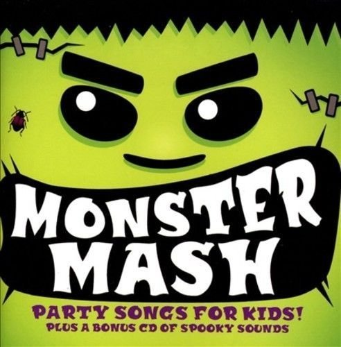 Monster Mash Halloween Party Songs & Sound Effects by Various Artists - Halloween Mash Song Monster