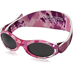 Baby Banz 00358 Sonnenbrille mit elastischem Neoprenband, für Kopfumfang 40-52 cm (circa bis 2 jahre), UV400, rosa