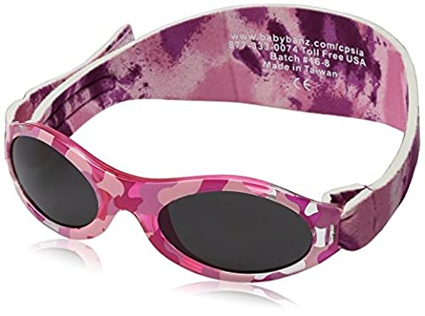 BanZ UV Protection Sunglasses (Camo Pink)