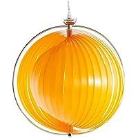 Lampe Zum Aufhängen Moon U2013 Suspension/Lampe Kugel Design In Flexible  Lamellen U2013 Durchmesser 40