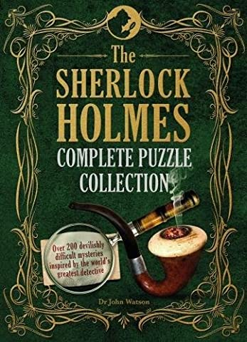 Sherlock Holmes Complete Puzzle Collection (Puzzle Books)