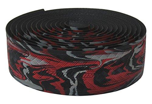 Lizard Skins li9700. WIL-Schleifenband Vorbau Fahrrad Unisex Erwachsene, Rot/Schwarz, - Skins Lenkerband Lizard