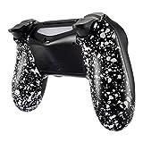 eXtremeRate PS4 Controller Schutzhülle Case Anti-Rutsch Rückseite Hülle Cover Gehäuse Skin Schale für Playstation 4 PS4 Slim PS4 Pro Controller JDM-040,JDM-050,JDM-055(Weiß)