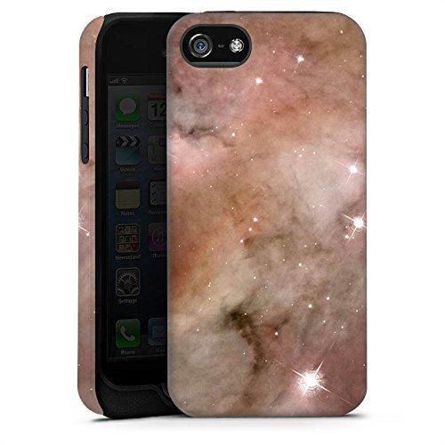 Apple iPhone X Silikon Hülle Case Schutzhülle Galaxy Space Die Staubsäule des Carina-Nebels Tough Case matt