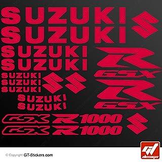 Aufkleber Suzuki GSX 1000–rot–GSXR, GSX R, Sticker, selbstklebend, Aufkleber, gt-design