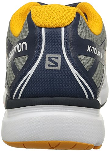 Salomon Herren, Sneaker, x-tour 2 mehrfarbig (Light Onix/SlateBlue/Yego)