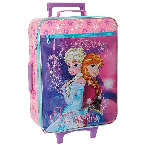 Disney Frozen - Elsa & Anna - Valigia Morbida Viola