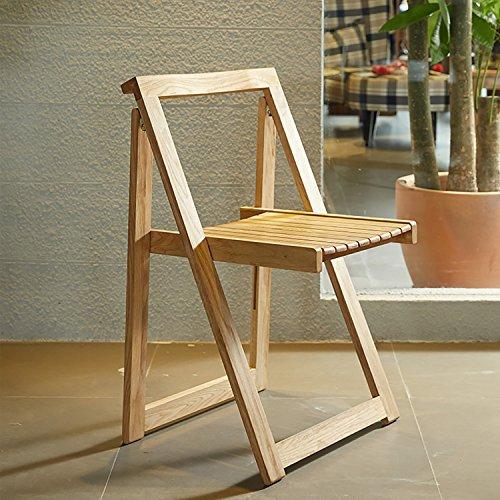 ... Cdbl Cdblchandelier Holz Klappstühle Moderne Minimalistische Kreative  Holz Eiche Esszimmer Stuhl Freizeit Büro Klappstühle Tragbar Klappstuhl