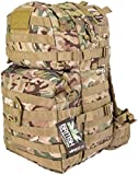 KombatUK BTP Medium Assault Pack - 40 Litre. 1000 denier waterproof Cordura.