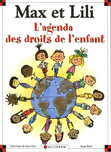 Agenda des droits de l'enfant Max et Lili